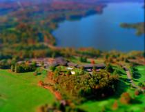 Lake House Miniature Set
