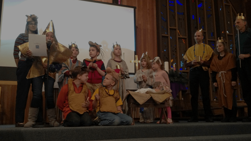 The Best Intergenerational Christmas Pageant Ever!