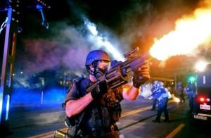 Ferguson-Police-fires-tear-gas-8-18-14